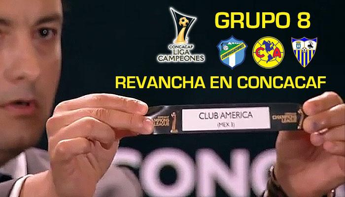 Grupo 8 Club America Concachampions