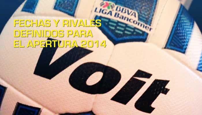 Calendario Club América 2014