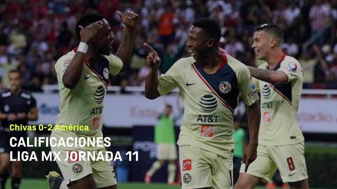 Calificaciones_America_Chivas_Clausura_2019