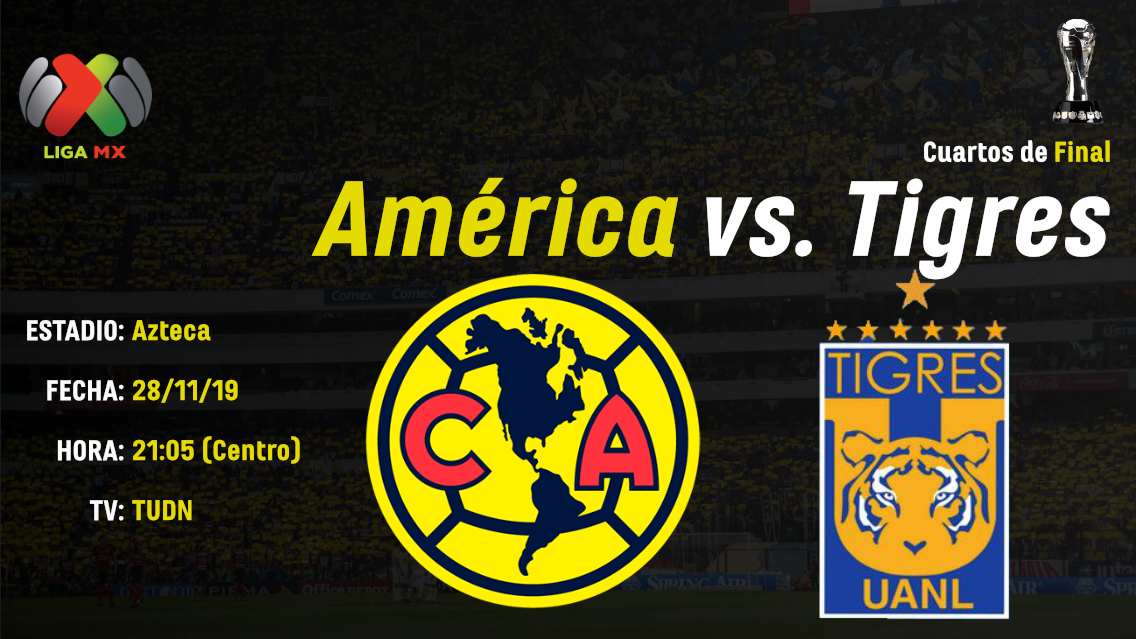 Portada_Previo_Club-America-Tigres-Cuartos-de-Final-Apertura-2019