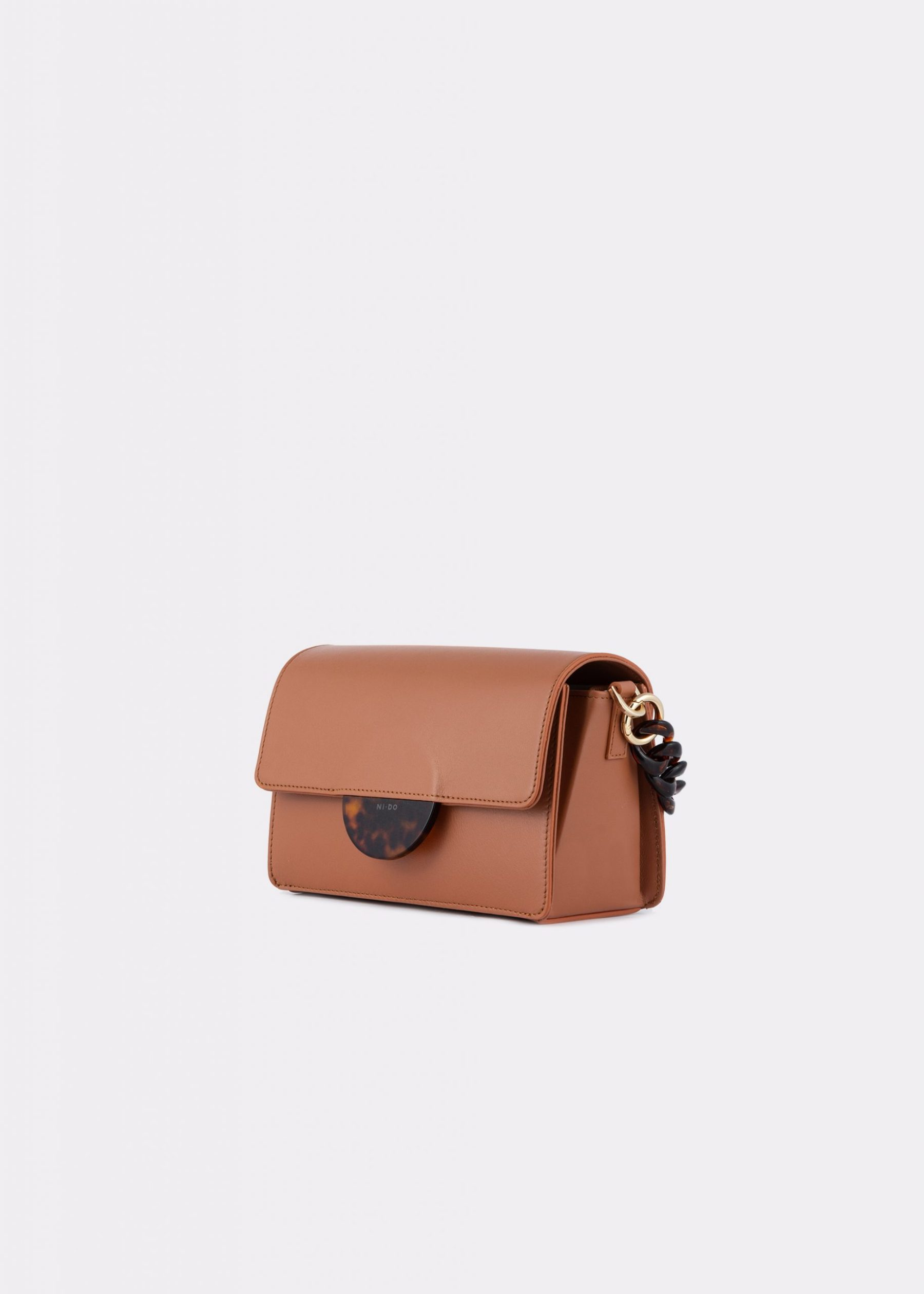 NIDO Cuore Mini bag Bisquit side view
