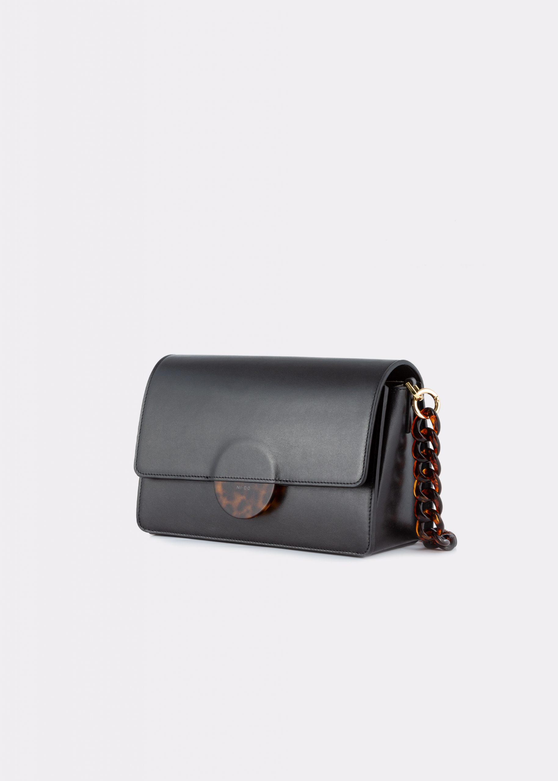 NIDO Cuore_Maxi bag black side view