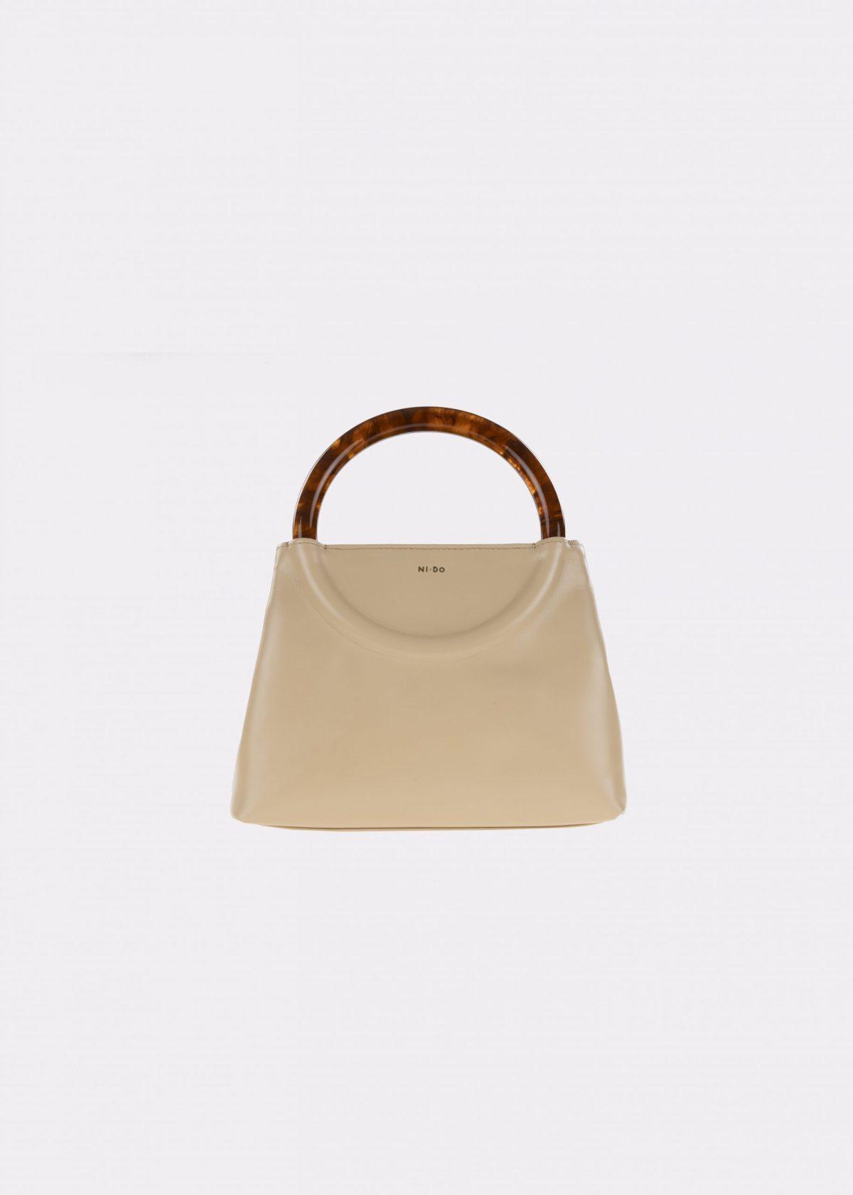 NIDO-Bolla_Mini-bag-Peanut-Amber_front view