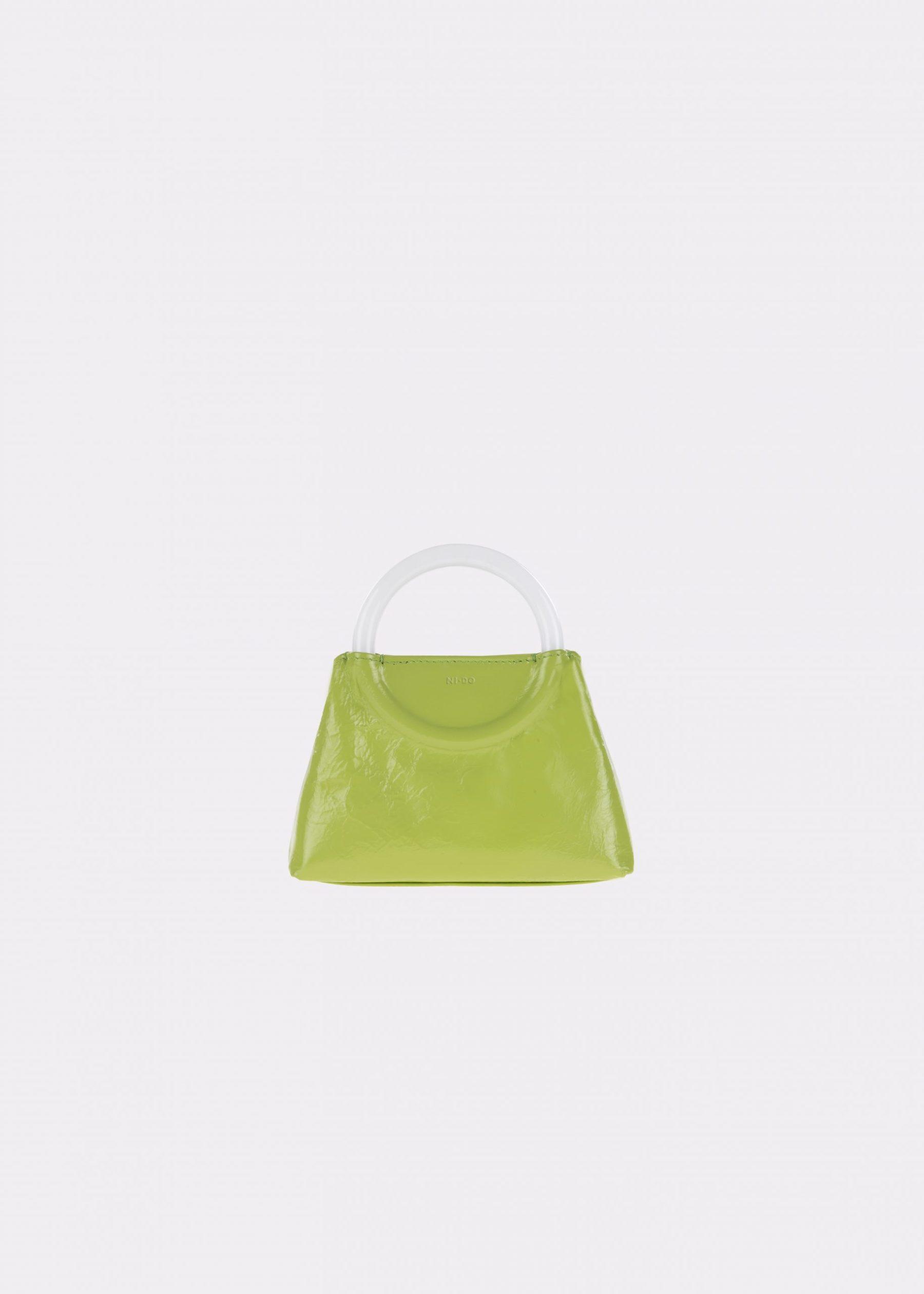 NIDO-Bolla_Mini-bag-apple-Pearl_front view