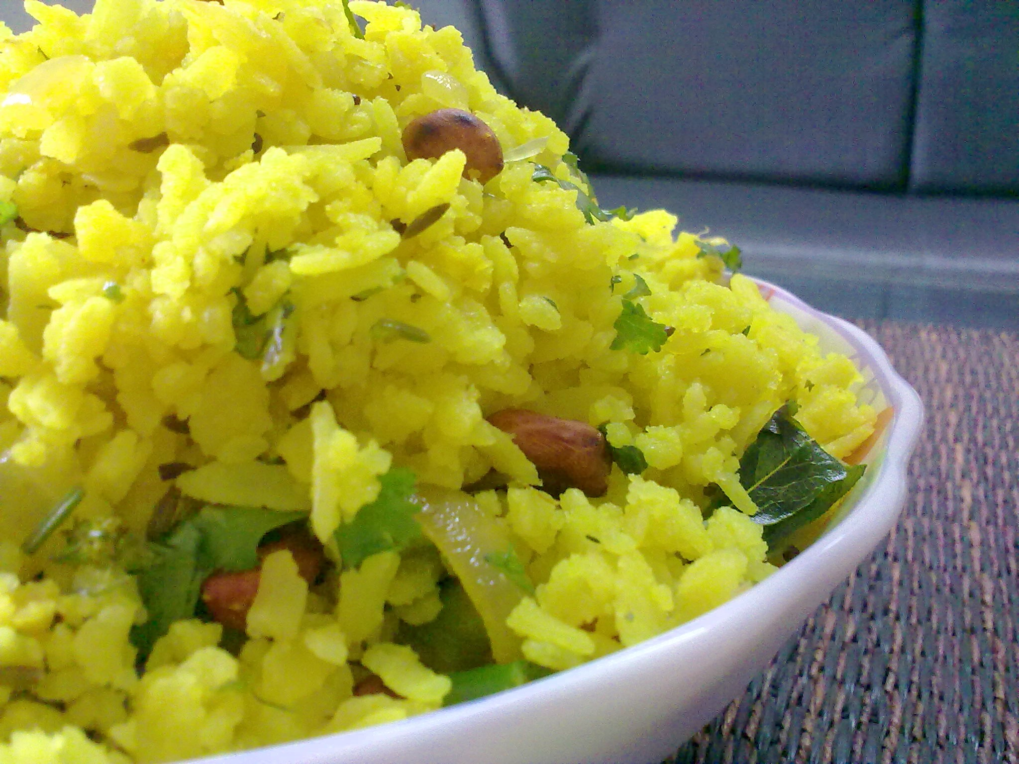 1 vegetable poha