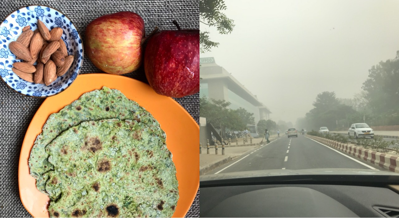 Foods to boost immunity : Fight the Smog