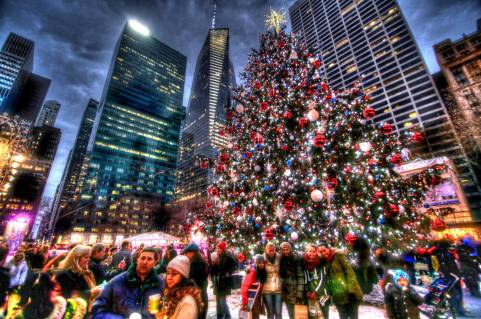 Xmas in New York City