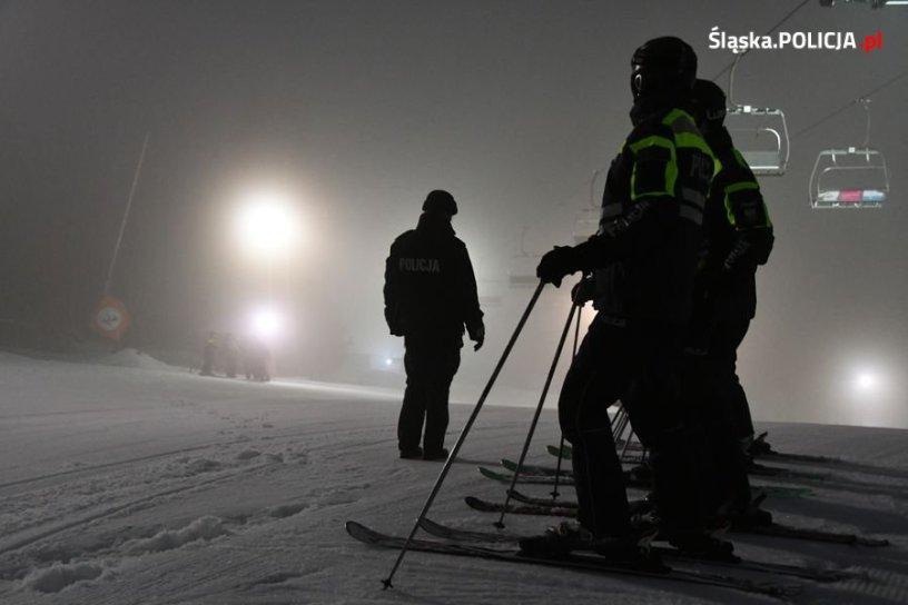 Policyjne patrole narciarskie