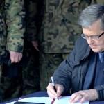 Prezydent Bronisław Komorowski z wizytą na Suwalszczyźnie Niebywałe Suwałki 12