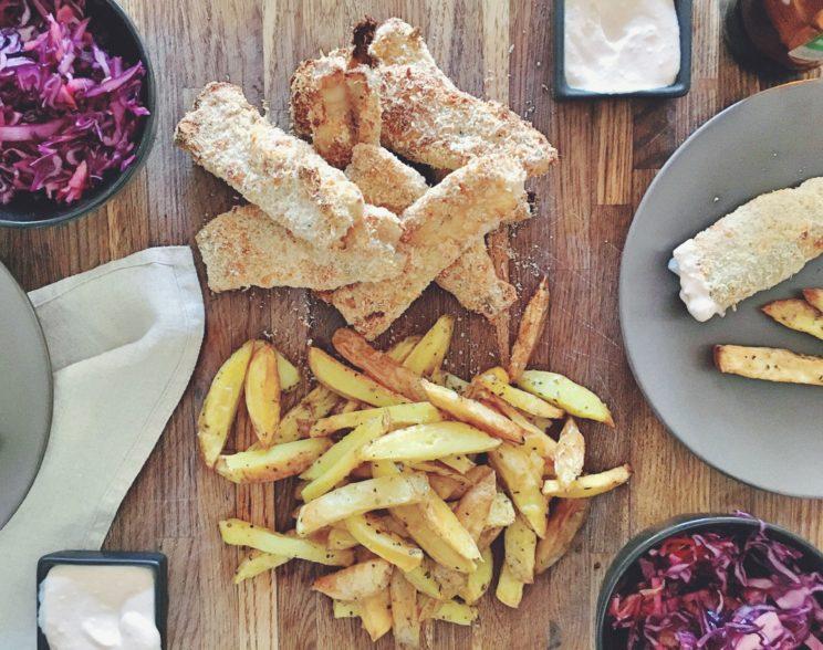 Przepis na fish and chips - ryba bez smażenia