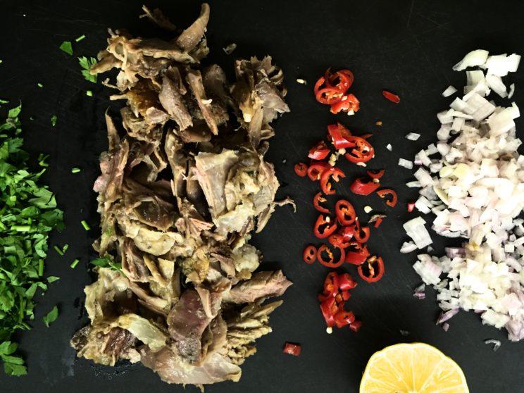 Co można zrobic z resztek pieczonego kurczaka