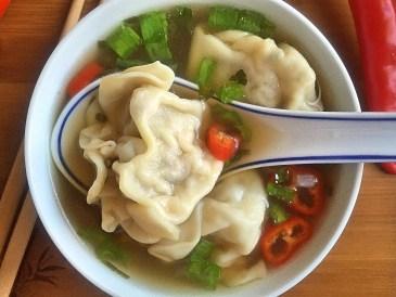 co można zrobić z resztek - zupa Won ton