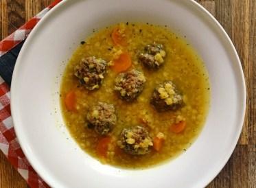 iracka zupa z soczewicy