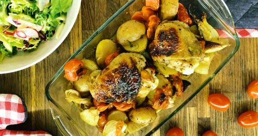 szybki obiad - kurczak
