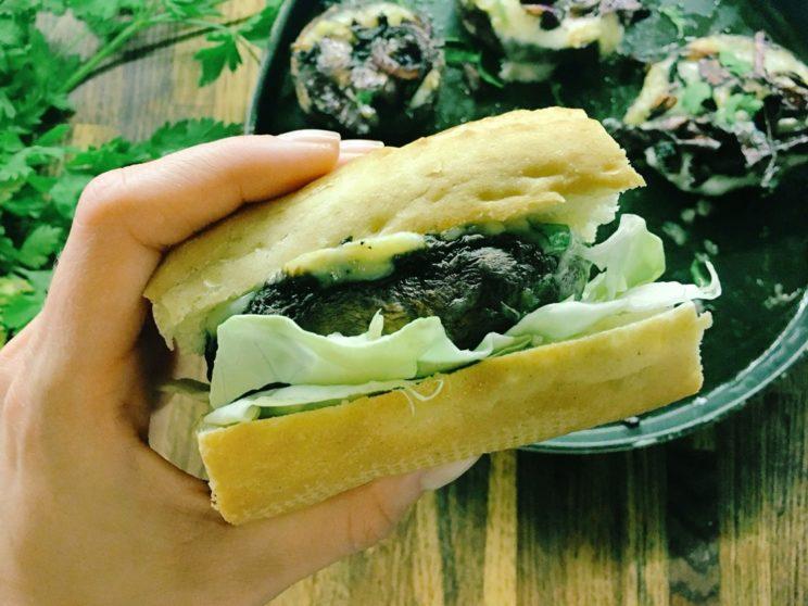 Burger z Portobello