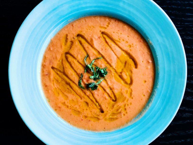 Zupa chłodnik gaspacho