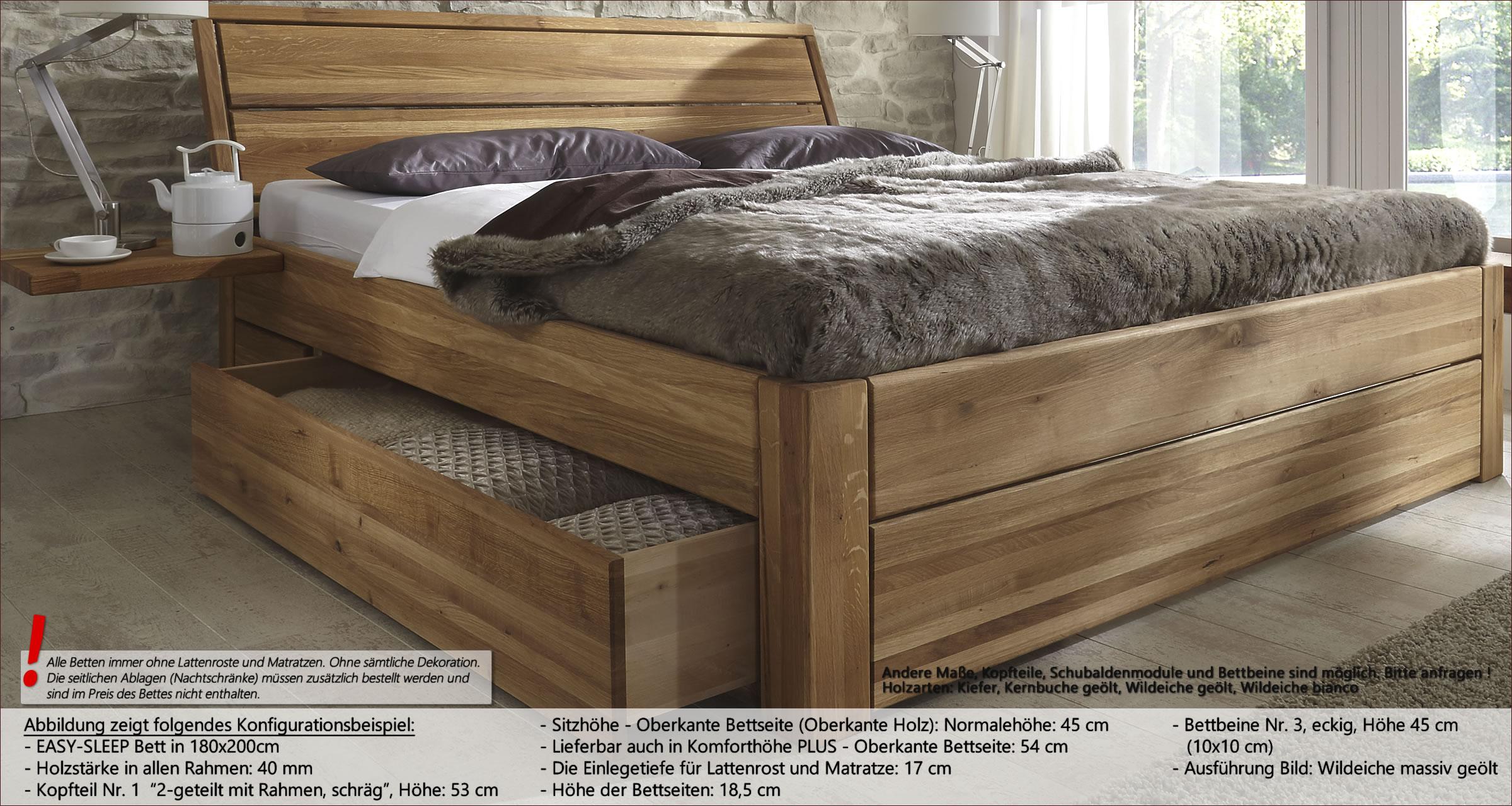 Betten Wasserbetten Mobel Rauch Bett 3 Schubkasten Komforthohe