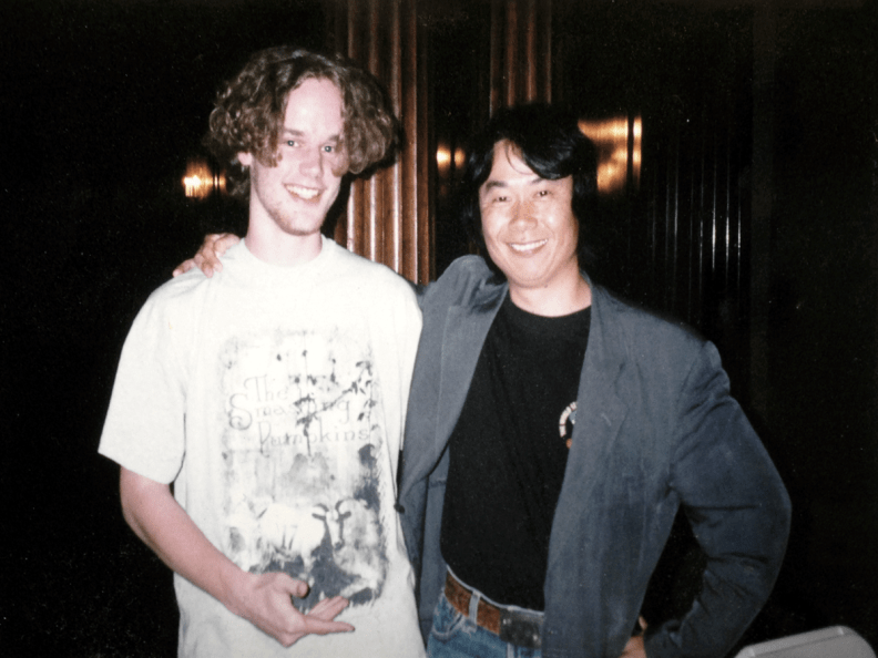 Miyamoto and me