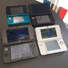 Four 3DS'es