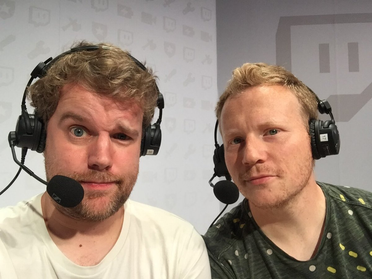 Niels and Collin on Twitch