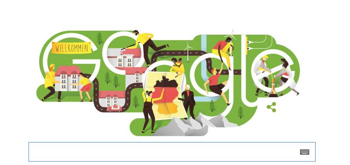 google-dzień jedności niemiec 2015