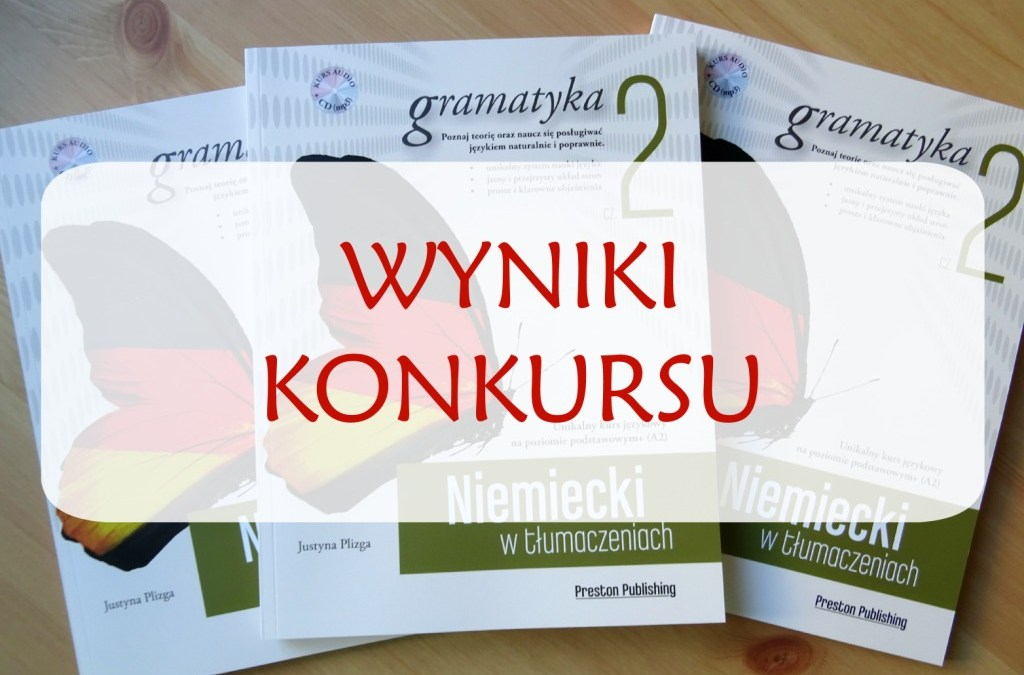 Wyniki konkursu – Preston Publishing