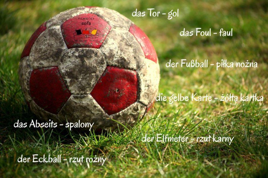 piłka nożna słówka