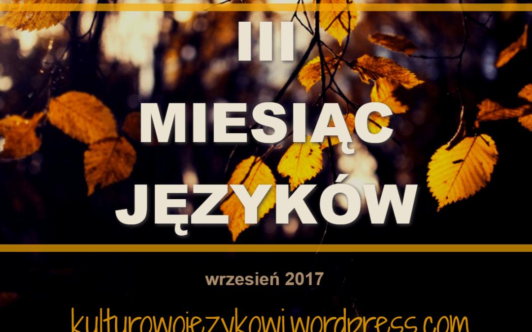 III Miesiąc Języków – zapowiedź akcji
