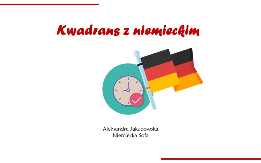 Kwadrans z niemieckim #3 – odmiana przymiotnika po rodzajniku określonym, nieokreślonym lub zerowym