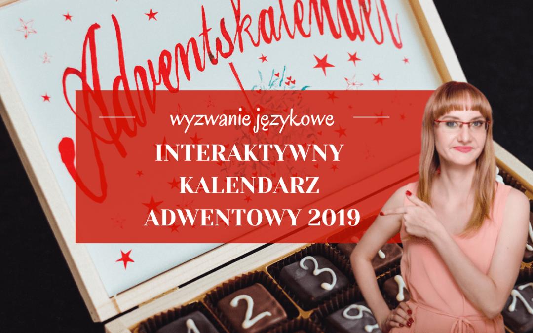 Interaktywny kalendarz adwentowy 2019