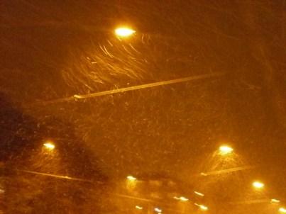 snow+ wind = blurry photos
