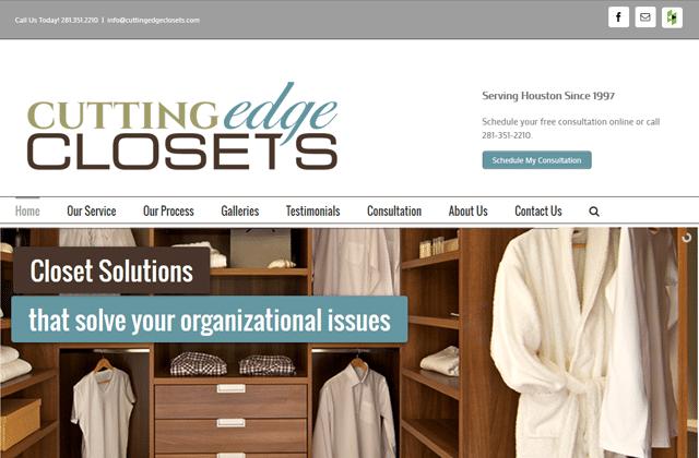 Cutting Edge Closets