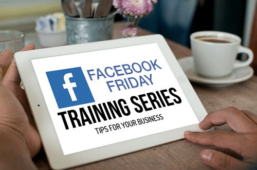 Facebook Friday Training Series