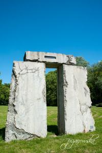 Plenerowa wystawa rzeźb