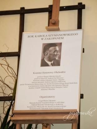 Plakat Roku Szymanowskiego