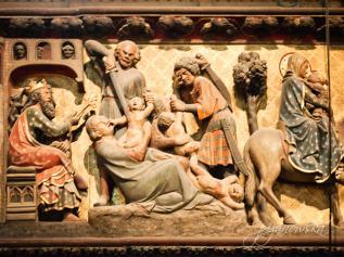 Rzeź niewiniątek w katedrze Notre Dame w Paryżu