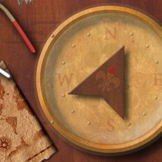 Wooden Compass