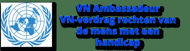 Stefan Vlaminckx is VN ambassadeur Rechten van de mens met een handicap, chronische aandoening