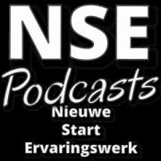 NSE Podcasts, de link naar het podcastkanaal van Nieuwe Start Ervaringswerk.