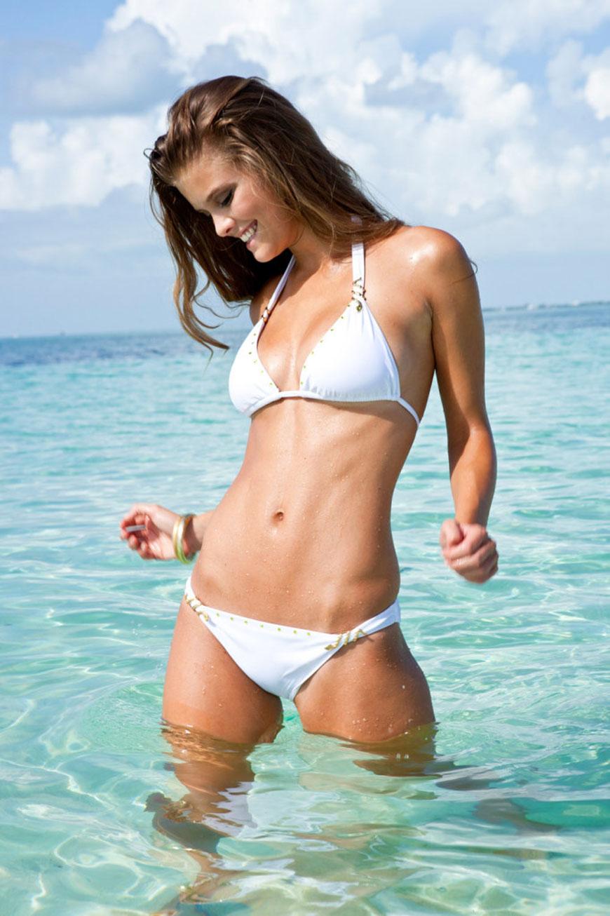Nina Agdal - Sauvage Swimwear 2013 (16)