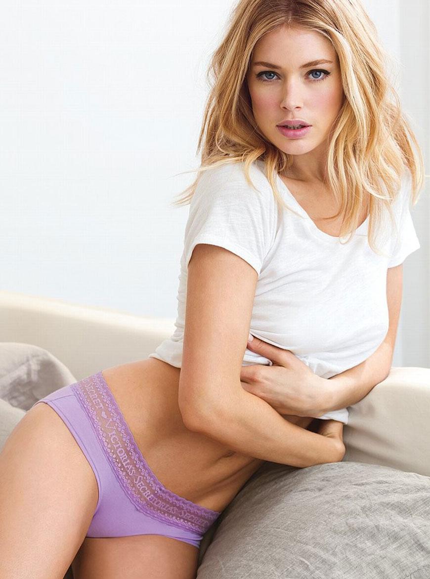 Doutzen Kroes - Victoria Secret Lingerie (6)