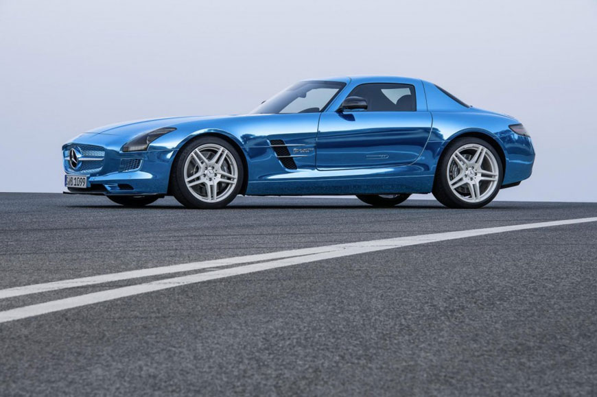 The Mercedes-Benz SLS Electric Drive (23)