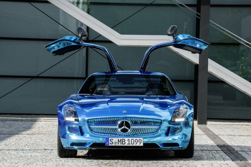 The Mercedes-Benz SLS Electric Drive (20)