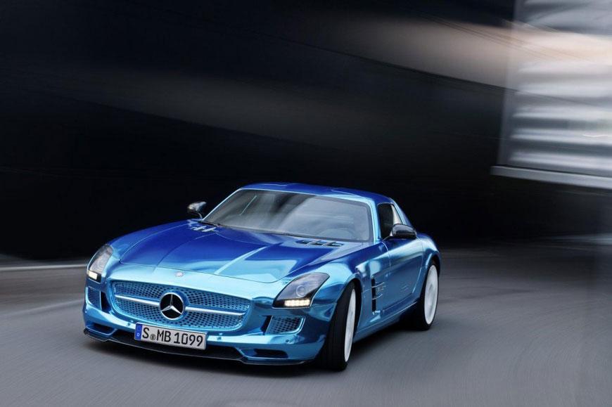 The Mercedes-Benz SLS Electric Drive (13)