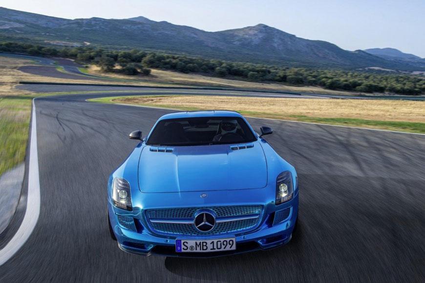 The Mercedes-Benz SLS Electric Drive (11)