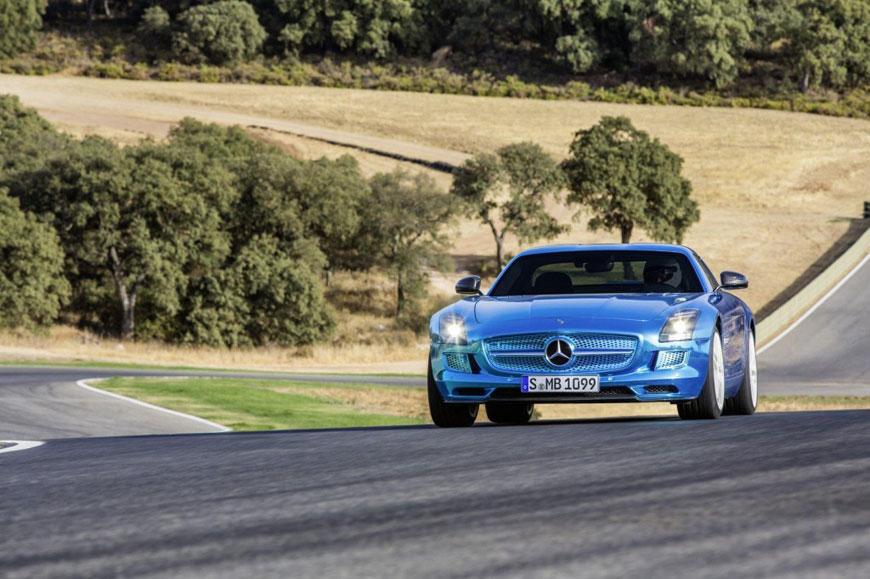 The Mercedes-Benz SLS Electric Drive (9)