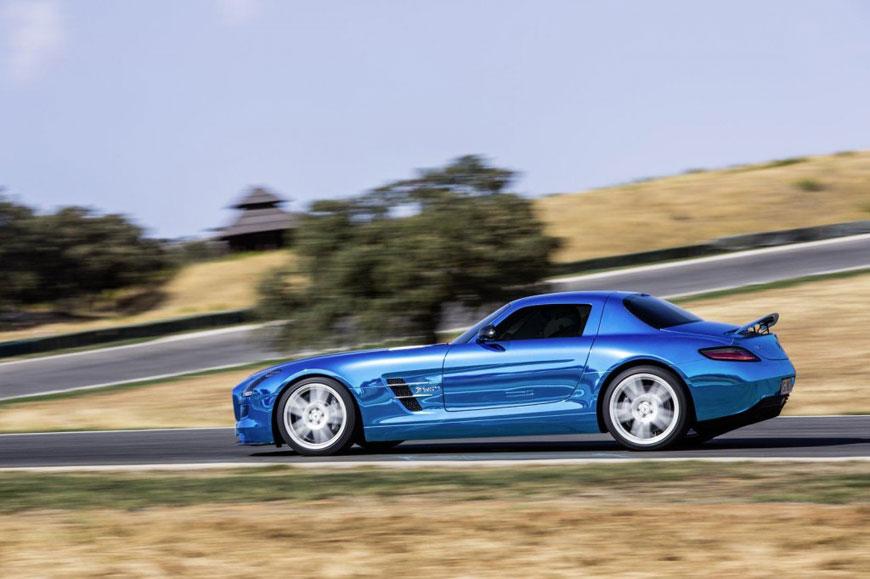 The Mercedes-Benz SLS Electric Drive (8)