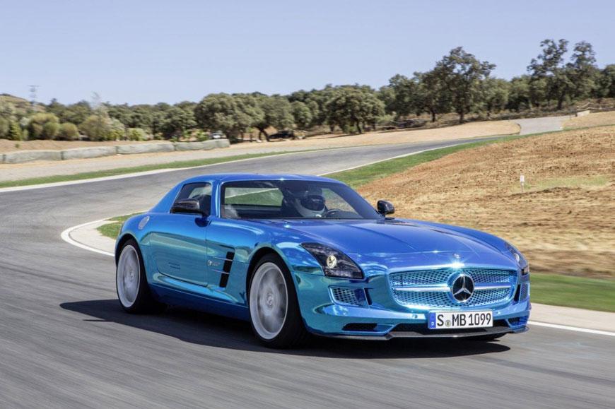 The Mercedes-Benz SLS Electric Drive (7)