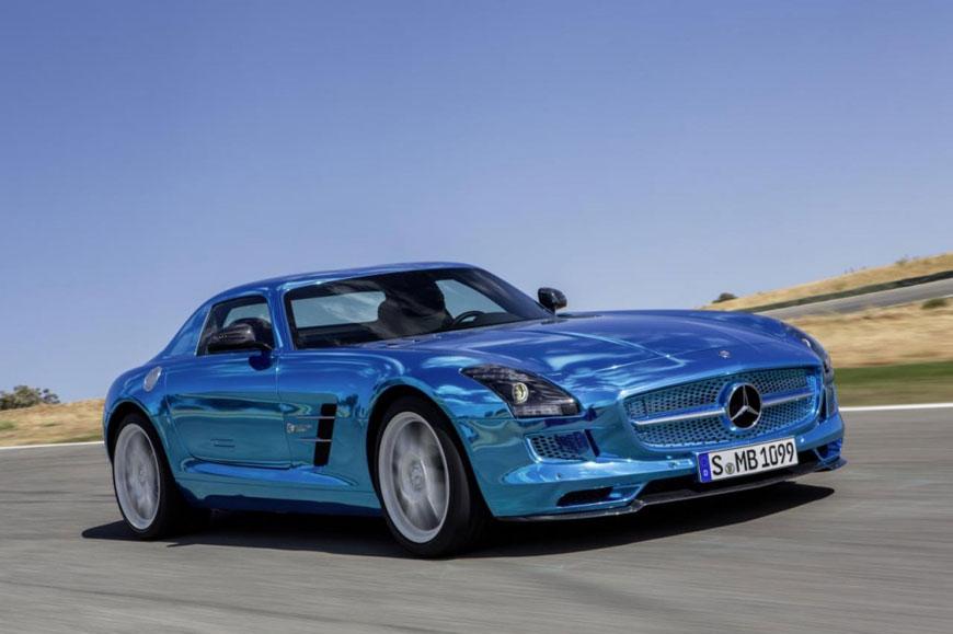 The Mercedes-Benz SLS Electric Drive (2)