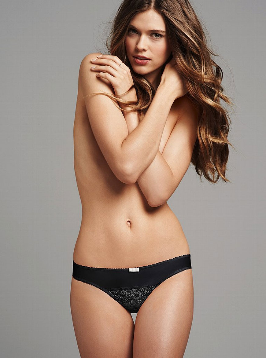 Victoria Lee voor Victoria Secret lingerie (13)